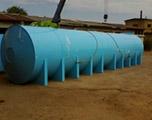 Накопительная бочка 90 м3 для питьевой воды